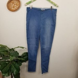 Free People pull on high rise jegging slim fit 31